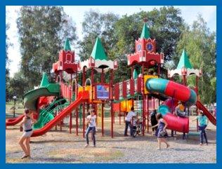 Детские площадки в Барнауле