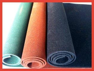 Рулонное резиновое покрытие